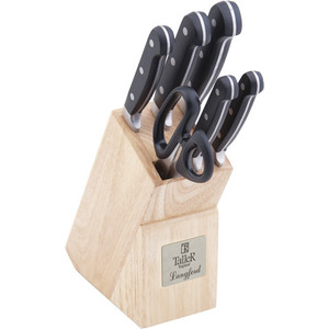 Набор ножей из 7 предметов Taller TR-2009 цена 2017