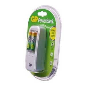 Зарядное устройство и аккумулятор GP PowerBank PB410GS65 + 650mAh AAA 2шт.