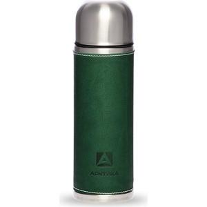 Термос с кожаной вставкой 1 л Арктика зелёный 108-1000 цена