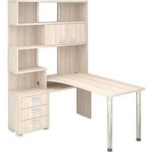 Стол компьютерный МЭРДЭС СР-420/130 К-ЛЕВ стол компьютерный мэрдэс ср 420 150 квк лев