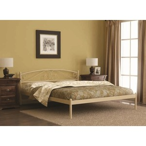 Кровать Стиллмет Оптима черный 160х200 кровать стиллмет оптима бежевый 90х200