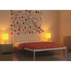 Кровать Стиллмет Эко Плюс белый 180х200 стиллмет эко плюс черный 180х200