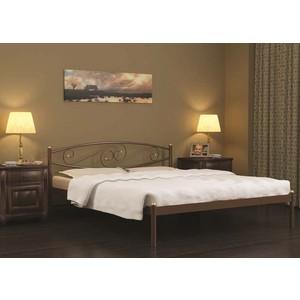 Кровать Стиллмет Волна красный лак 180х200
