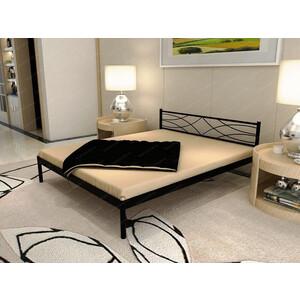 Кровать Стиллмет Экзотика черный 160х200