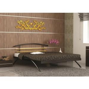Кровать Стиллмет Сакура черный 180х200