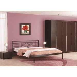 Кровать Стиллмет Мираж красный лак 180х200