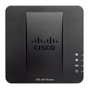 Шлюз VoIP Cisco SPA122-XU fast free shipping unlocked linksys spa3000 spa 3000 voip fxs voip phone adapter voice ip phone adapter