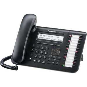 Системный телефон Panasonic KX-DT543RUB атс