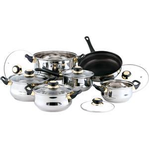 Набор посуды из 12 предметов Bekker Classic (BK-224) набор посуды bekker classic bk 4604 8 предметов