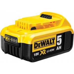 Аккумулятор DeWALT 18В 5Ач Li-ion XR -серия (DCB184)