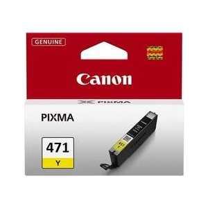 Картридж Canon CLI-471Y (0403C001)