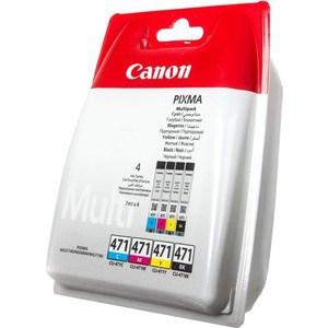 Картридж Canon CLI-471C/M/Y/Bk (0401C004) картридж cactus cli 426c m y cs cli426c m y