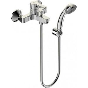 Смеситель для ванны Vidima Уно с душевым гарнитуром (BA238AA) смеситель для раковины vidima уно ba235aa