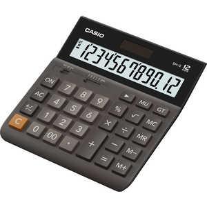 Калькулятор Casio DH-12 коричневый/черный