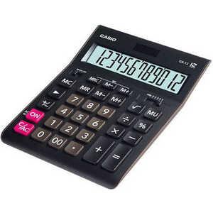лучшая цена Калькулятор Casio GR-12 черный