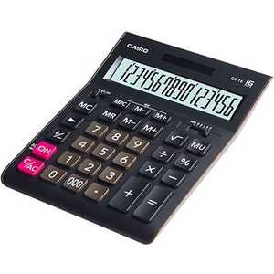лучшая цена Калькулятор Casio GR-16 черный