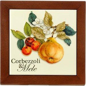 Подставка под горячее Nuova Cer Итальянские фрукты (NC6592-CEM-AL) цена и фото