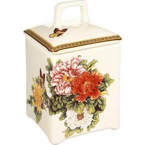 Банка для сыпучих продуктов Imari Японский сад (IM55060_2-1730AL) банка для сыпучих продуктоврозовый сад 12 12 19см 1000мл уп 1 32шт