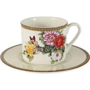 Чашка с блюдцем Imari Японский сад (IM15018E-1730AL)