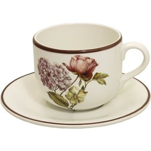 Чашка с блюдцем LCS Сады Флоренции (LCS933TP-BO-AL) цена