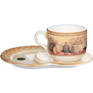 цена на Чашка на маленьком подносе LCS Натюрморт (LCS933TP_NV-AL)