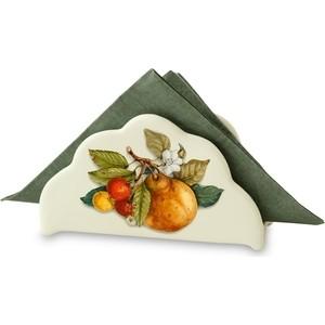 Салфетница Nuova Cer Итальянские фрукты (NC3520-CEM-AL) подставка для бумажного полотенца nuova cer итальянские фрукты