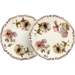 Набор из 2 десертных тарелок LCS Сады Флоренции (LCS053PF-BO-AL) чашка с блюдцем lcs сады флоренции lcs933tp bo al