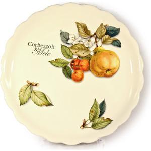 Тарелка обеденная Nuova Cer Итальянские фрукты (NC7410_2_1-CEM-AL) подставка для бумажного полотенца nuova cer итальянские фрукты