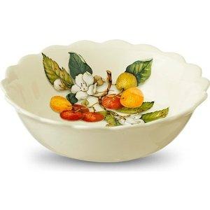 Тарелка суповая Nuova Cer Итальянские фрукты (NC7410_3_1-CEM-AL) блюдо для запекания nuova cer итальянские фрукты 32 х 19 см