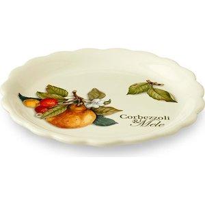 Тарелка закусочная Nuova Cer Итальянские фрукты (NC7410_4_1-CEM-AL) подставка для бумажного полотенца nuova cer итальянские фрукты