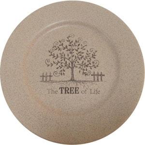 Тарелка обеденная Terracotta Дерево жизни (TLY802-1-TL-AL)