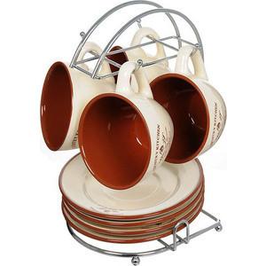 Чайный набор из 9 предметов на 4 персоны Terracotta Кухня в стиле Кантри (TLY314-CK-AL) цена