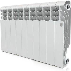 Радиатор отопления ROYAL Thermo алюминиевый Revolution 350 10 секций termolux a80 350 ral9016 10 секций