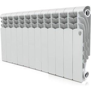 Радиатор отопления ROYAL Thermo алюминиевый Revolution 350 12 секций радиатор royal thermo revolution 350 6 секций