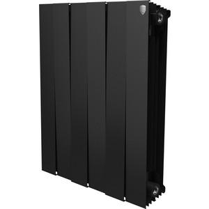 Радиатор отопления ROYAL Thermo биметаллический Piano Forte 500 Noir Sable 6 секций цена