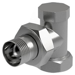 Вентиль ROYAL Thermo на обратную подводку угловой 3/4 (RTO 50006)