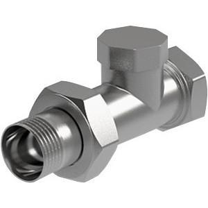 Вентиль ROYAL Thermo на обратную подводку прямой 3/4 (RTO 50008)