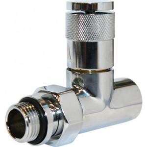 Вентиль ROYAL Thermo ручной регулировки прямой PIANO (хром) 1/2 (RTE 50021)