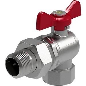 Кран ROYAL Thermo шаровый угловой Optimal 3/4 НР/ВР с разъемным соединением (RTO 07024) кран royal thermo шаровый газовый gas 3 4 вр rte04002