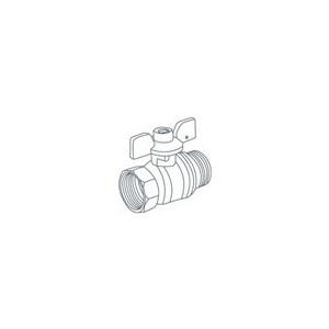 Кран ROYAL Thermo шаровый газовый GAS 3/4 НР/ВР (RTE04008)