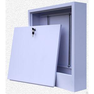 Коллекторный шкаф ROYAL Thermo наружный увеличенный для смесительных узлов 650x180x1150 (ШРНУ180-6) коллекторный шкаф royal thermo встроенный 670x125x1194 шрв 6