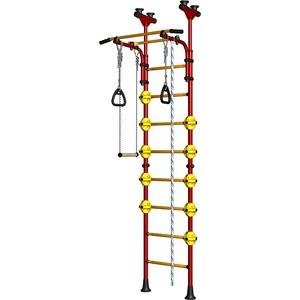 Детский спортивный комплекс Карусель Комета-5 (ДСКМ-2-8.06.Г1.490.01-53) красно/жёлтый