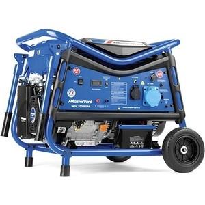 купить Генератор бензиновый MasterYard MGV 7000REPA+ATS по цене 79989.5 рублей
