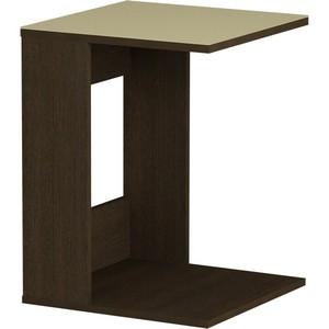 цена на Журнальный стол MetalDesign Смарт MD 731.02.10 корпус-венге/ стекло-крем