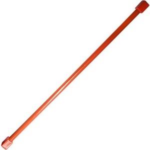 Бодибар вес 4кг длина 120 см красный купить недорого низкая цена  - купить со скидкой