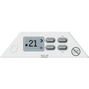 Термостат Nobo NCU 2R с ЖК индикатором температуры и режимов для NTE4S выключатель schneider electric blanca blnva101016 одноклавишный с изолирующей пластиной антрацит