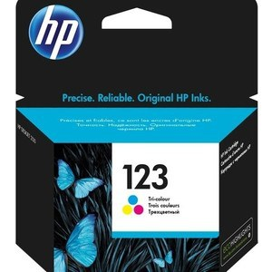 Картридж HP №123 Tri-colour (F6V16AE) картридж hp 28 c8728ae tri colour