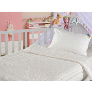 Детская подушка Облачко ЗПух 40х60 (155265) подушка для кормящих smart textile мамина радость с наволочкой наполнитель искуственный лебяжий пух 66 х 34 х 36 см