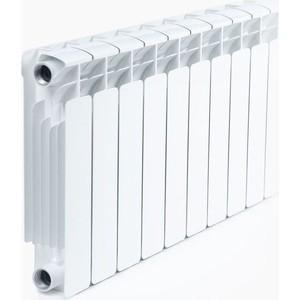 Радиатор отопления RIFAR BASE 350 9 секций биметаллический боковое подключение (RB35009) радиатор отопления rifar base 350 8 секций биметаллический боковое подключение rb35008