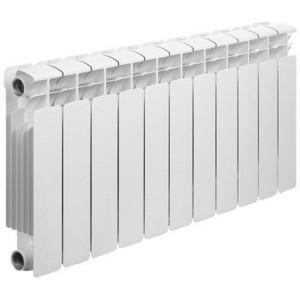 Радиатор отопления RIFAR BASE 350 11 секций биметаллический боковое подключение (RB35011) радиатор отопления rifar base 350 8 секций биметаллический боковое подключение rb35008